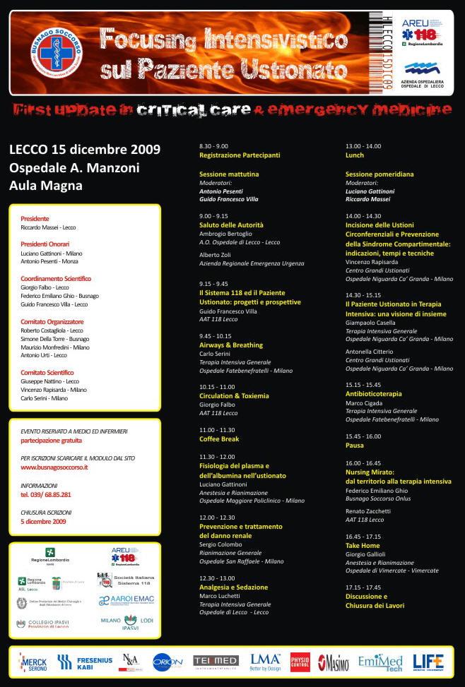 locandina_congresso_focusingintensivisticosulpazienteustionato_lecco