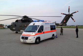 ECMO Team San Raffaele Busnago Soccorso Aeronautica Militare