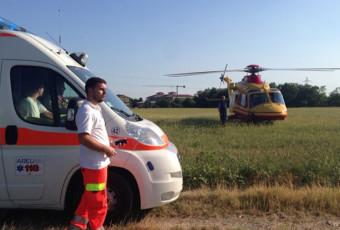 11 Agosto 2013, Incidente Motociclista Trezzano Rosa.