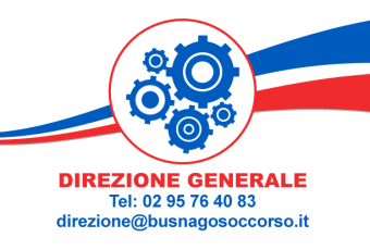 Direzione Generale di Busnago Soccorso Onlus 02 95764083