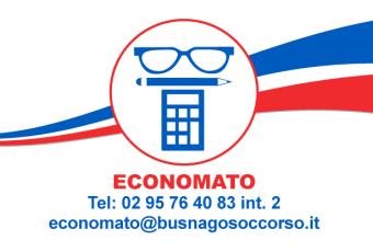Economato di Busnago Soccorso Onlus 02 95764083 interno 2