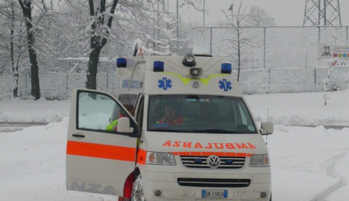 Emergenza Neve in Lombardia.