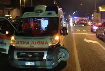 Incidente stradale ad Inzago, coinvolta ambulanza 118.