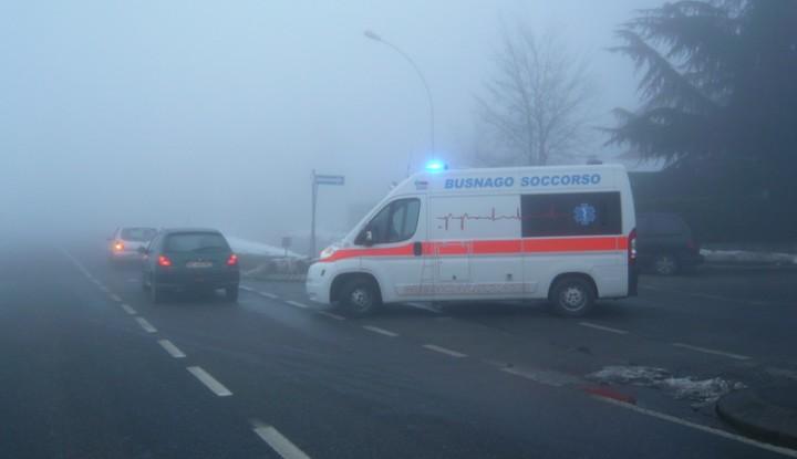 Incidente Stradale sulla SP179 a Pozzo D'Adda.