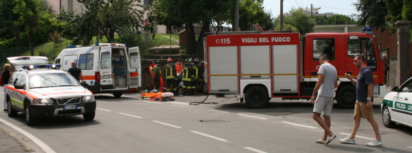 Incidente Stradale a Paderno d'Adda.