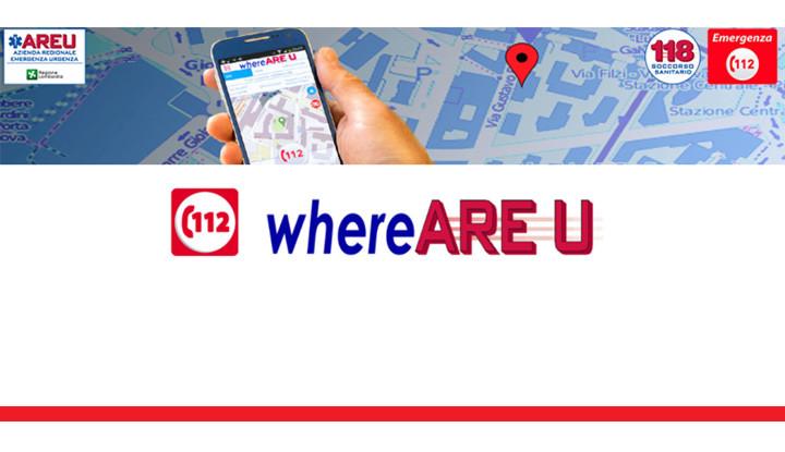 La nuova app di Regione Lombardia: 112 where ARE U, per facilitare la richiesta di soccorsi.