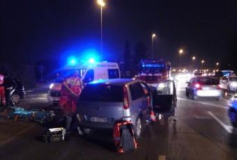 Incidente stradale a Bellusco, frontale avvenuto il 04.02.210