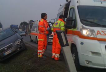 Incidente stradale a Osnago.