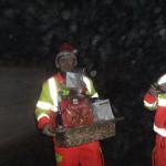 Babbo Natale in Ambulanza 2008 Busnago Soccorso Onlus