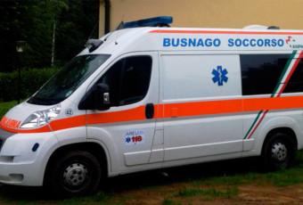 La livrea della Bravo 42 ANPAS Busnago Soccorso