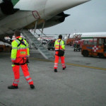 Trasferimento di paziente critico con volo di linea