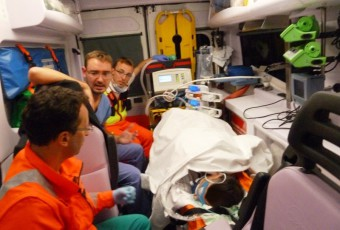 Ecmo Team Ospedale San Raffaele in Missione.