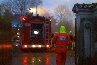 Incendio abitazione a Calco avvenuto il 26.11.2010
