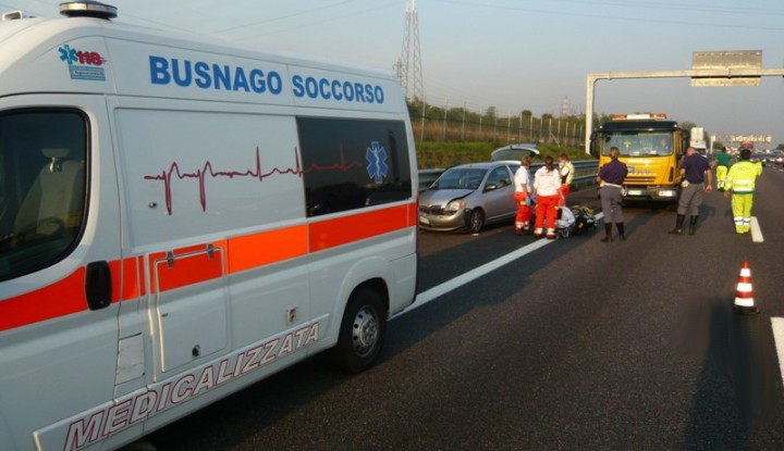 Incidente stradale in A4 al km 25.