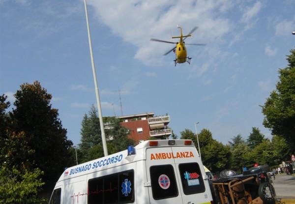 Incidente Stradale a Gorgonzola.