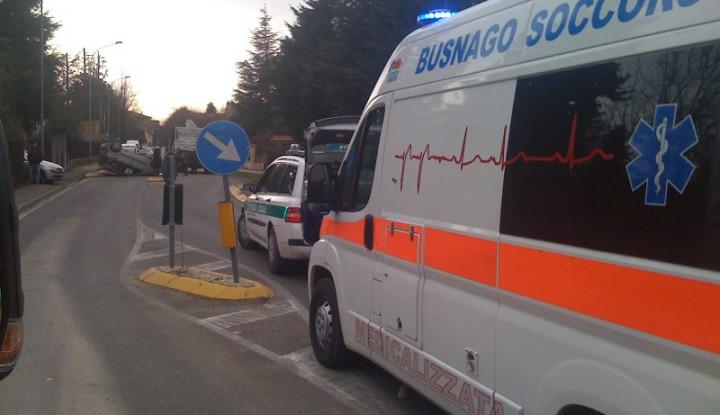 Incidente Stradale a Cavenago Brianza.