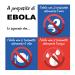 Come prevenire il contagio dell'ebola.