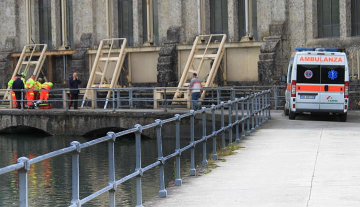 Rinvenimento Corpo avvenuto il 31 maggio 2013 a Trezzo sull'Adda presso il Taccani.