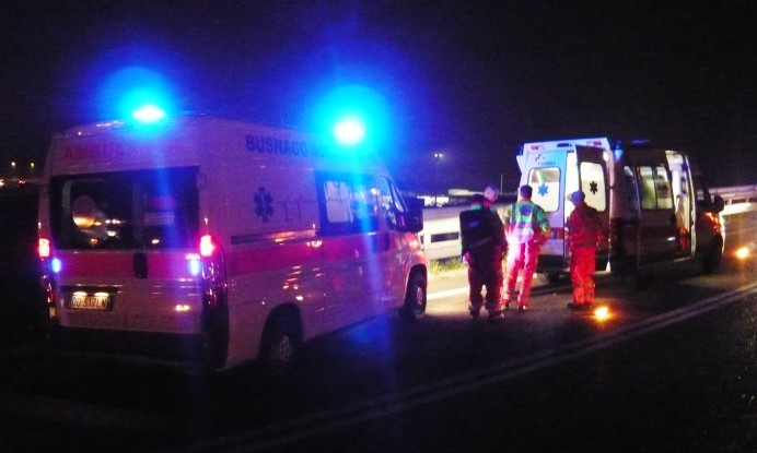 Incidente Busnago Soccorso, foto di repertorio.