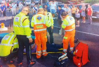 Incidente Stradale a Monza, coinvolto un motociclista.