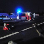 incidente stradale A4 trezzo 100909 5 feriti