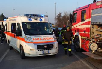 Incidente stradale a Masate.