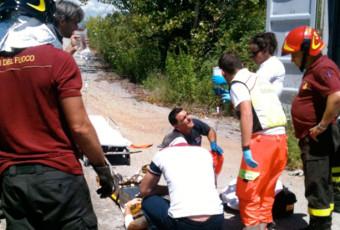 Incidente sul Lavoro a Roncello.