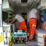 rimpatrio sanitario ambulanza Medjugorje Milano 290809 047