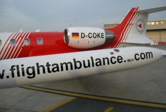 Rimpatrio Sanitario con volo aeroambulanza FAI