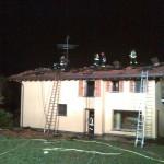 Incendio abitazione Calco 261110