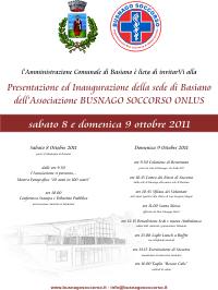 locandina_Inaugurazione_sede_Basiano_Busnago_Soccorso_Onlus