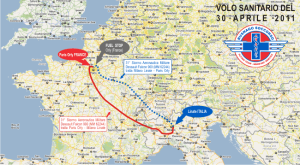 routing_volo_umanitario_paris_pavia