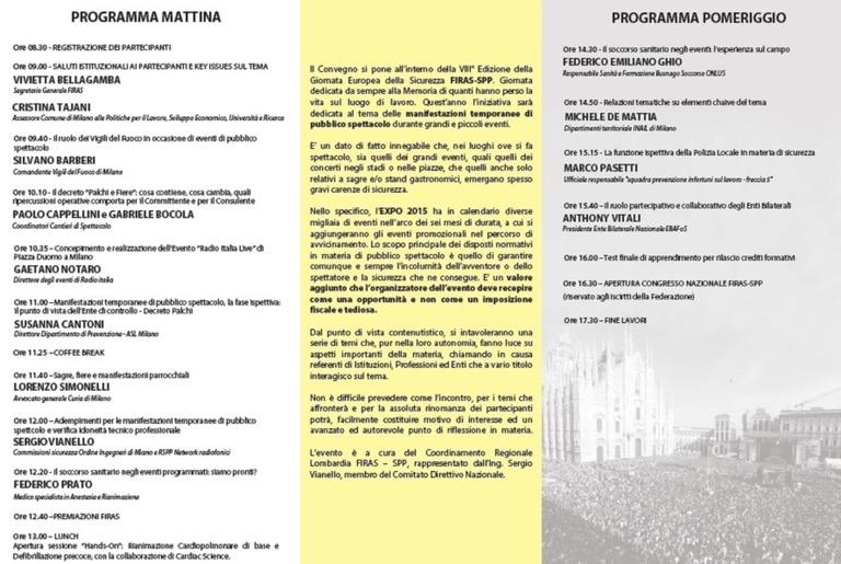 EXPO 2015 - Convegno sulla Sicurezza dei Palchi jpg