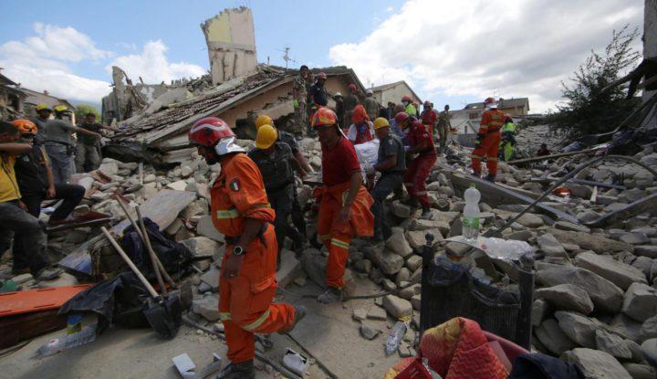 Donazione tramite Anpas per le vittime delle regioni colpite dal Terremoto in centro Italia
